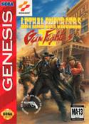 Lethal Enforcers II Gun Fighters - Genesis Game
