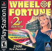 Wheel Of Fortune 2nd Edition - PS1 Game