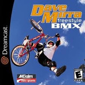 Complete Dave Mirra Freestyle BMX  - Dreamcast Game