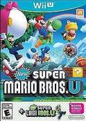 New Super Mario Bros. U + New Super Luigi U - Wii U Game