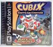Cubix Robots for Everyone: Race'n Robots - PS1 Game