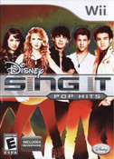 Disney Sing It Pop Hits - Wii Game