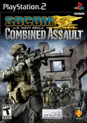Socom US Navy Seals Combined Assault - PS2 Game
