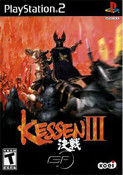 Kessen III - PS2 Game