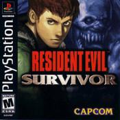 Resident Evil Survivor - PS1 Game
