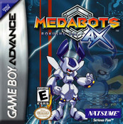 Medabots AX Rokusho Version - GBA Game