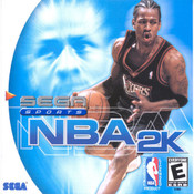 NBA 2K - Dreamcast Game