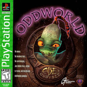 Oddworld: Abe's Oddysee Greatest Hits - PS1 Game