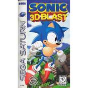 Sonic 3D Blast - Saturn Game