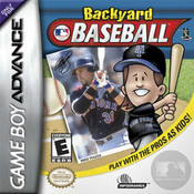 Backyard Baseball - Game Boy Advance Game