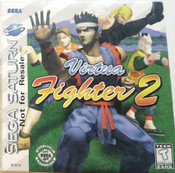 Virtua Fighter 2 - Saturn Game