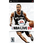 NBA Live 09 - PSP Game