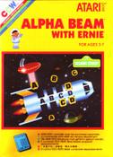 Alpha Beam With Ernie - Atari 2600 Game