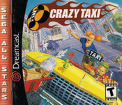 Complete Crazy Taxi Sega All Stars - Dreamcast Game