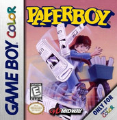 Paperboy - Game Boy Color Game