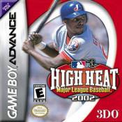 High Heat Major League Baseball 2002 - Game Boy Advance Game