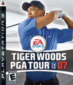 Tiger Woods PGA Tour 07 - PS3 Game
