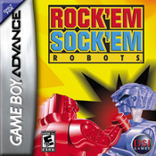 Rock'em Sock'em Robots - Game Boy Advance Game
