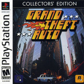 Grand Theft Auto GTA Collectors' Edition - PS1 Game