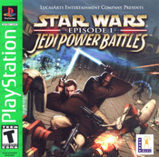 Complete Star Wars Episode 1 Jedi Power Battles Greatest Hits - PS1 Game
