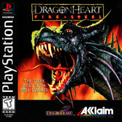 DragonHeart Fire & Steel - PS1 Game