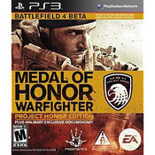Medal of Honor Warfighter Project Honor Edition - PS3 Game
