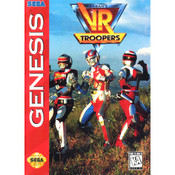 VR Troopers - Empty Genesis Box