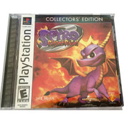 Complete Spyro The Dragon Ripto's Rage! Collectors Edition - PS1 Game