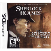 Sherlock Holmes: The Mystery of the Mummy - DS Game