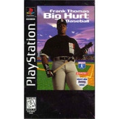 Frank Thomas Big Hurt Baseball - PS1 Game