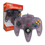 New Replica Controller Clear Atomic Purple - N64