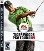 Tiger Woods PGA Tour 09 - PS3 Game