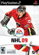 NHL 09 - PS2 Game