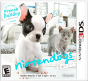 Nintendogs + Cats: French Bulldog & New Friends - 3DS Game