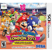 Mario & Sonic London 2012 Olympic Games - 3DS Game