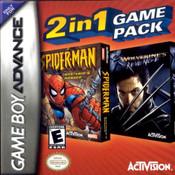 Spider-Man Mysterio's Menace / X-2 Wolverines Revenge - Game Boy Advance Game