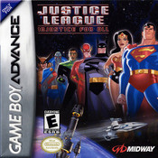 Justice League Injustice for All - Game Boy Advance Game