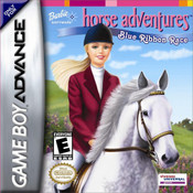 Barbie Horse Adventures Blue Ribbon Race - Game Boy Advance Game