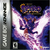 Legend of Spyro A New Beginning - Game Boy Advance Game