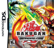 Bakugan: Defenders of the Core - DS Game