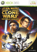 Star Wars the Clone Wars Republic Heroes - Xbox 360 Game