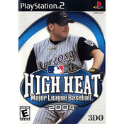 High Heat Major League Baseball 2004 - PS2 Game