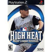 High Heat Major League Baseball 2004 - PS2 Game