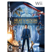 Night the The Museum Battle of The Smithsonian The Video Game - Wii Game