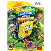 Spongebob Squarepants Featuring Nicktoons Globs Of Doom - Wii Game
