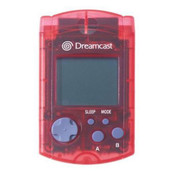 Original VMU Memory Card Red - Dreamcast