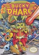 Bucky O'Hare - NES Game Box Art