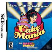 Cake Mania Nintendo ds game