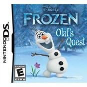 Disney's Frozen Olaf's Quest Nintendo DS game box art image pic
