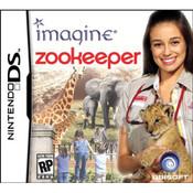 Imagine Zookeeper Nintendo DS game box art image pic